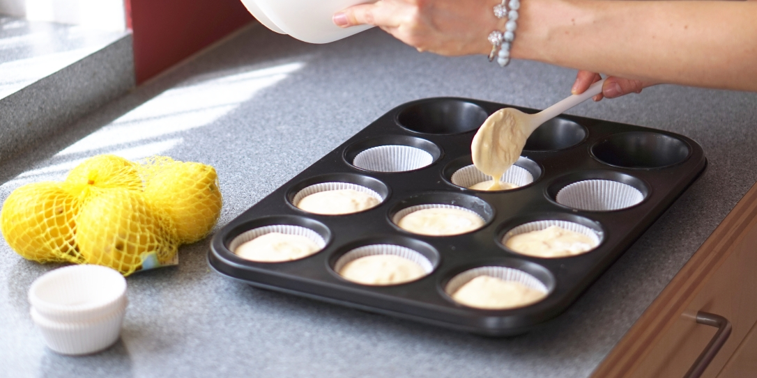 Lemon Protein muffins(3)