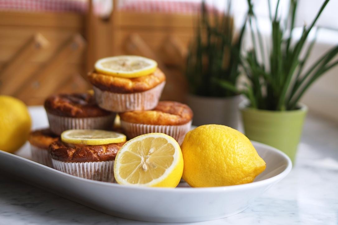 Lemon Protein muffins(6)